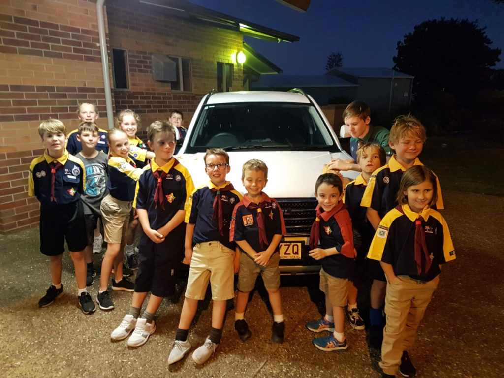 Moore Park Beach Scouts fundraiser
