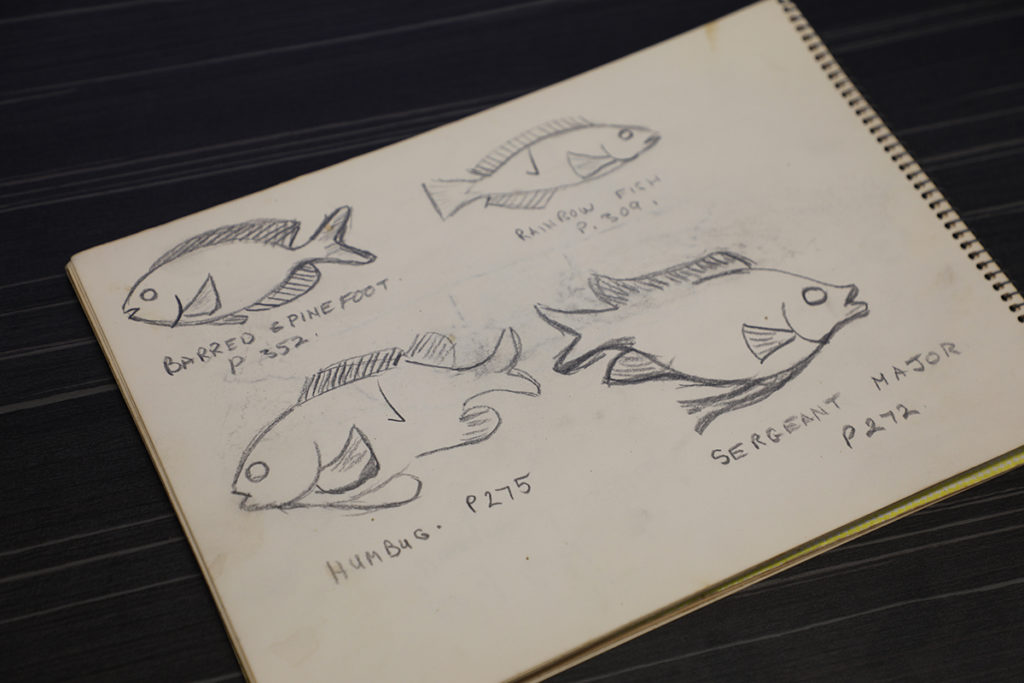 Denizens of the Deep sketches