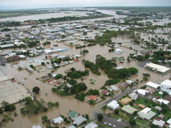 The Bundaberg East Flood Levee and says it may lead to lower premiums.