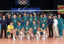 Volleyball team Australia