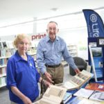 Bundaberg Lifeline turns 40 on 24 October and Reverend Rob Evans and Gavina McLucas have been there since the very beginning.