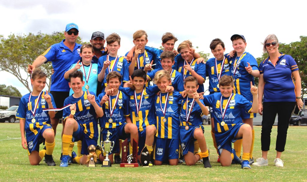 ATW Saints Under 13 Grand Final Team