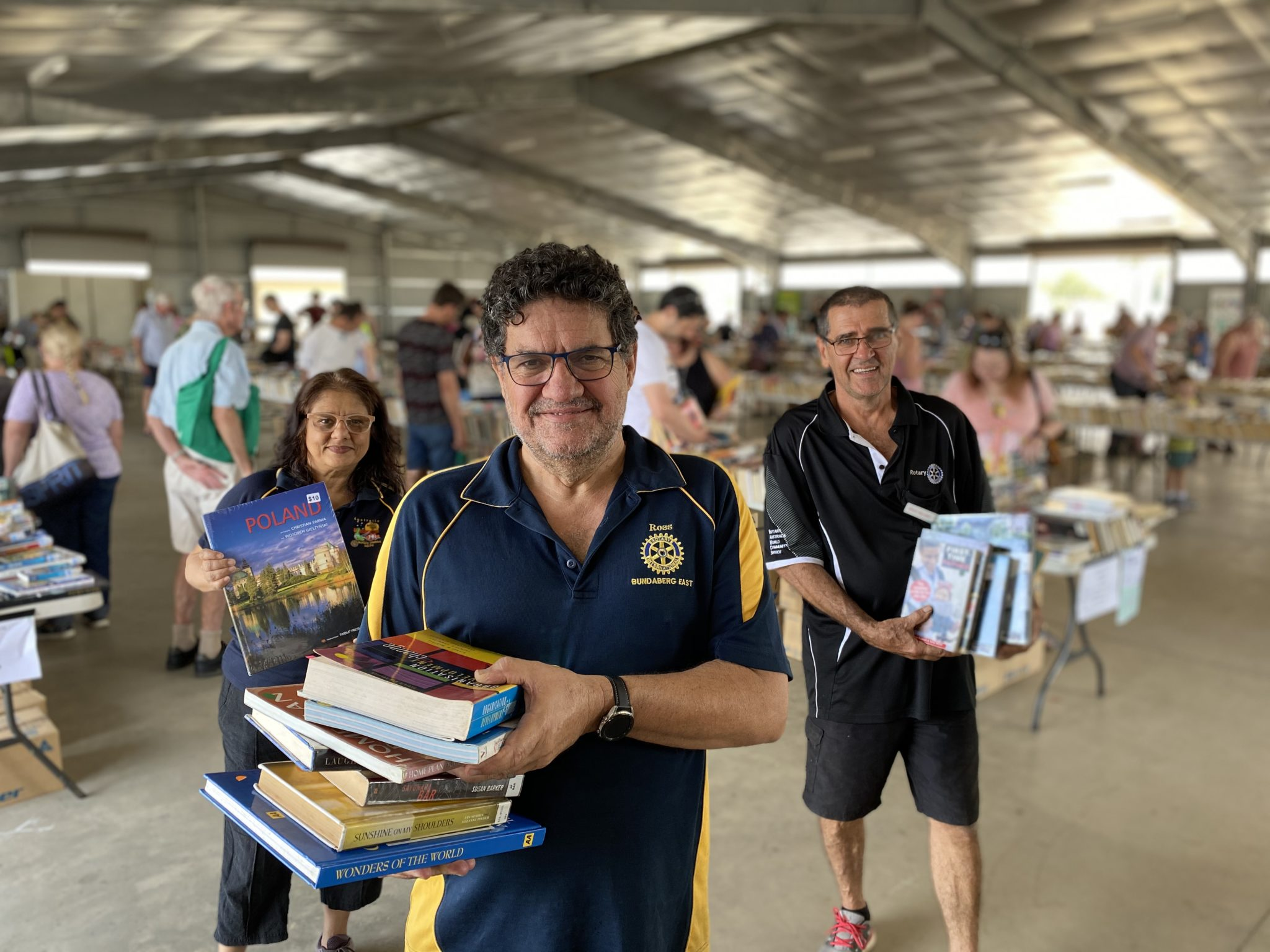 thousands of books annual rotary book sale