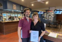 Mollydookers Cafe Trip Advisor Award