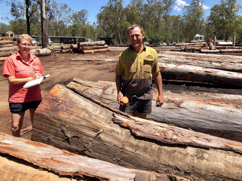 Boundary Creek Sawmill owners Jay and Jarrod