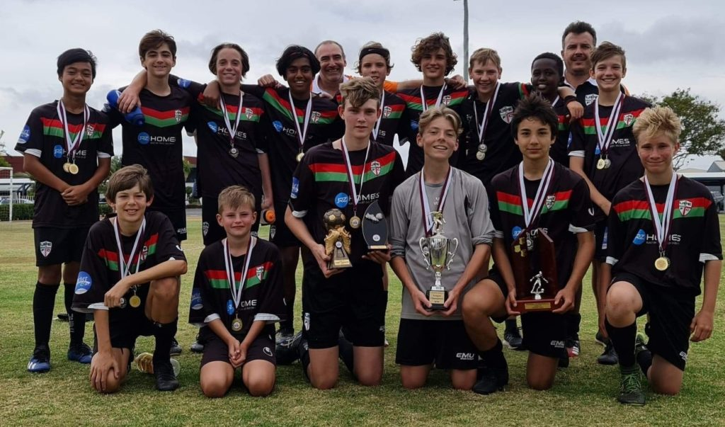 United Park Eagles Under 14 Grand Final Team