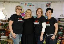 The volunteer team at Bundy Flavours