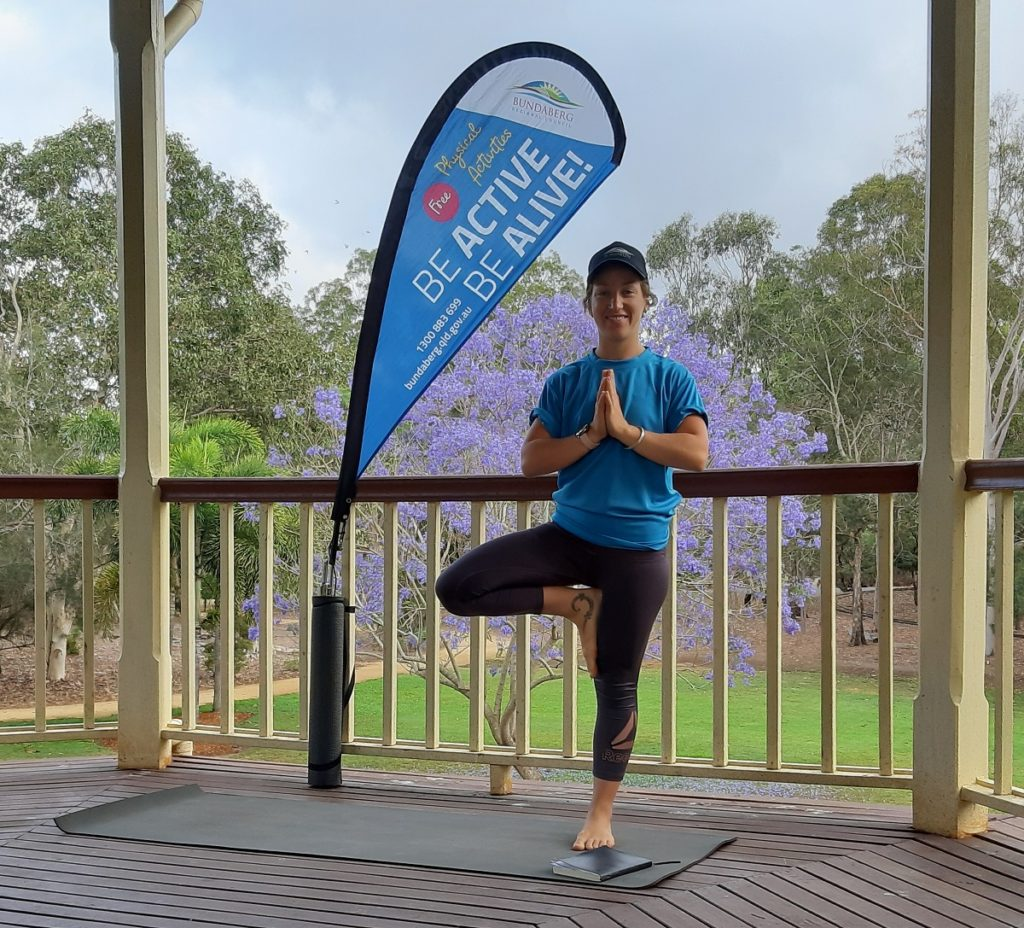 The Bundaberg Regional Council's Be Active, Be Alive program is underway,