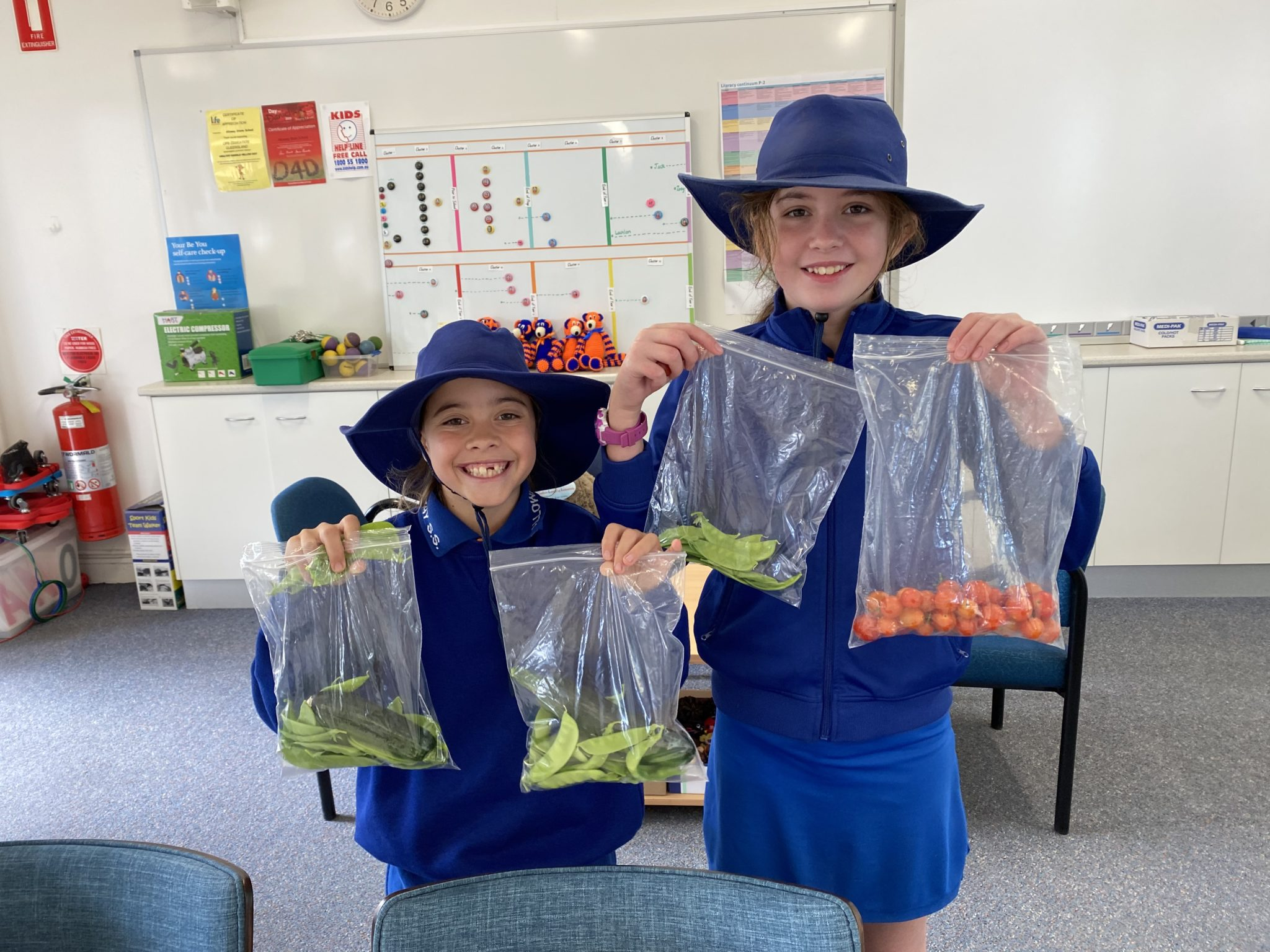 Students part of Pick of the Crop Program