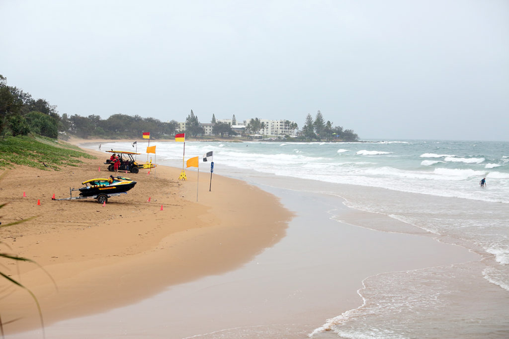 Improved surf conditions Bargara