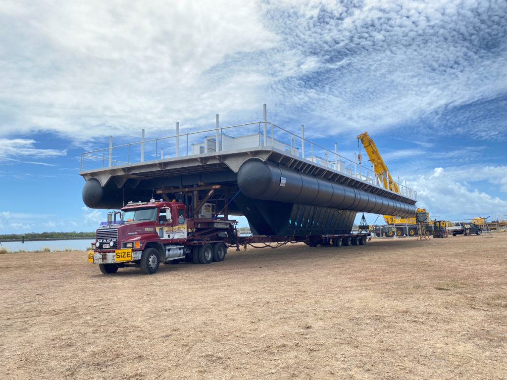 Lady Musgrave Pontoon launch