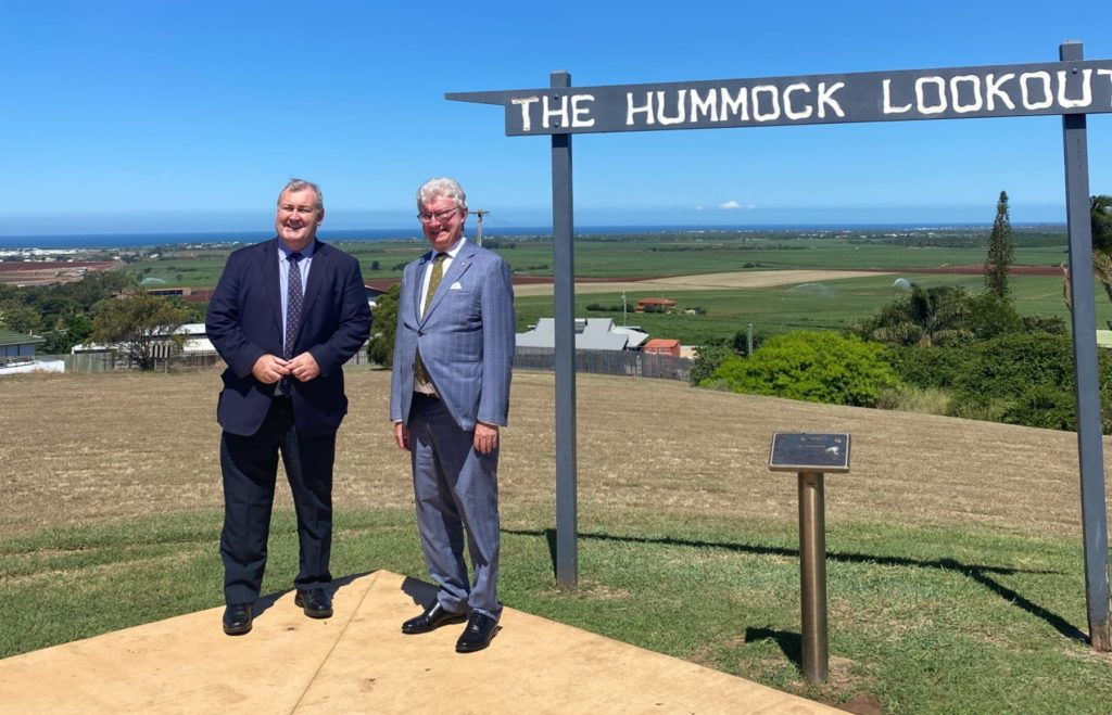 Governor at The Hummock, Sir Anthony's Rest