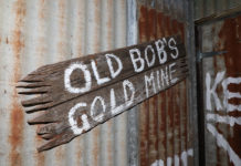 Old Bobs Gold Mine at the new Escape Grid opening in Bundaberg