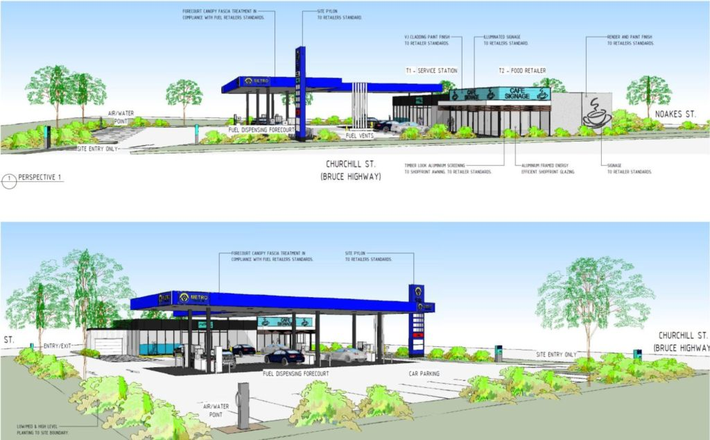 Chidlers service station approved