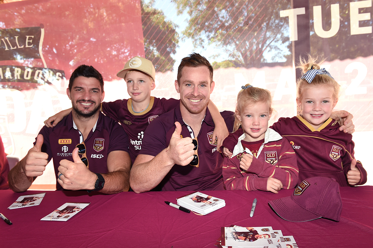 Maroons fan day