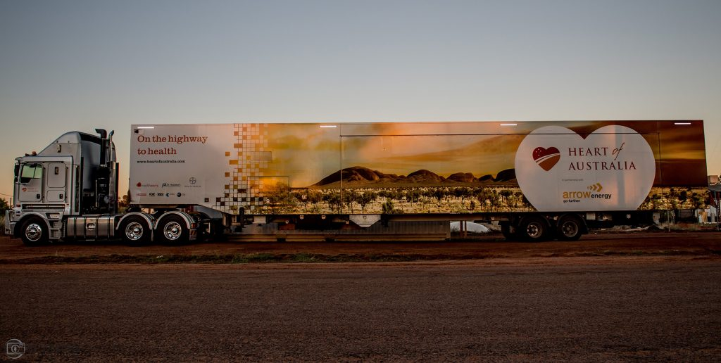 Mobile medical clinic Childers