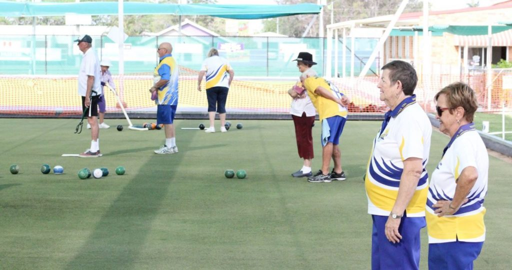 weekend bowls results