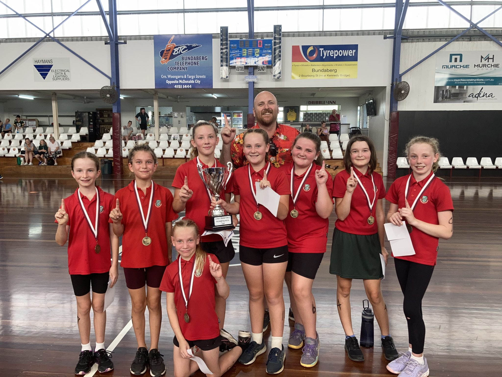 Primary School Girls Basketball Cup